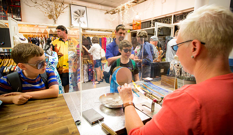 Hot Glass Bead Making Workshops At Arthouse Industries By Lindsay Moller