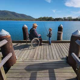 Lake Cathie Access Friendly Fishing Platform