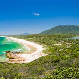 Looking South To Dunbogan Beach By Matt Cramer