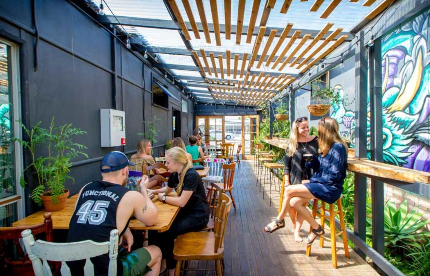 Dine Outdoors At Social Grounds Cafe By Lindsay Moller