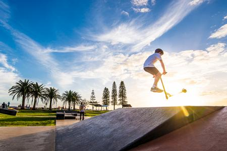 Town Beach Skate Park By Matt Cramer
