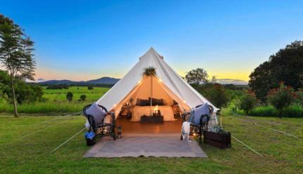 Flourish Bell Tents In  Port  Macquarie